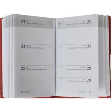 Picture of agenda Brepols 2021 Armada     71x102mm 7/2 Seta -  zwart