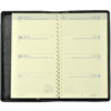 Picture of agenda Brepols 2021 Interplan  89x160mm 7/2 Dallas - zwart