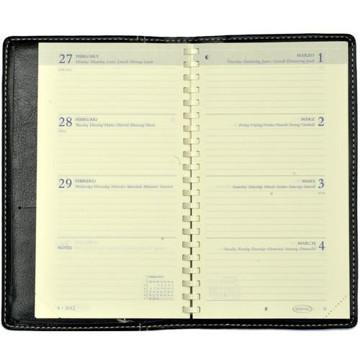 Picture of agenda Brepols 2020 Interplan  89x160mm 7/2 Palermo Pastel - blauw