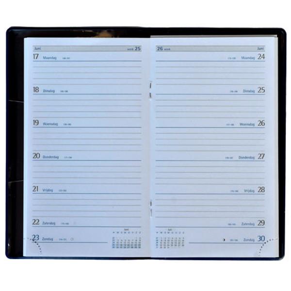 Picture of agenda Castelli 2020 H36 Latina   87x153mm 7/1 Seta - blauw / grijs / zwart