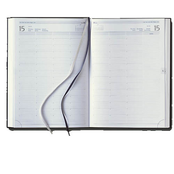 Picture of agenda Castelli 2020 H64 Praktijk Mundior 210x297mm 1/2 7 kolommen - zwart