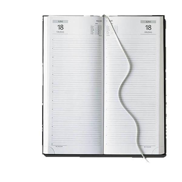 Afbeelding van agenda Castelli 2020 H73 Praktijk 140x330mm 1/2 Balacron - zwart