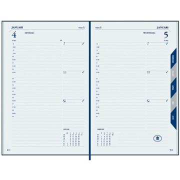 Picture of agenda Ryam 2020 President  136x207mm 1/1 + maandtabs - zwart