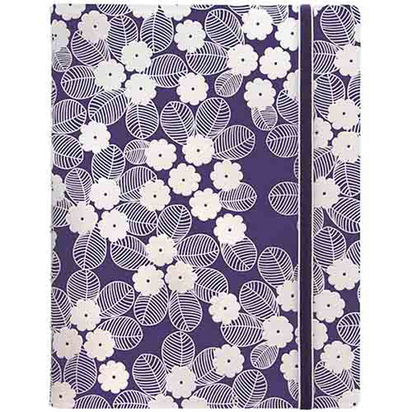 Picture of notitieboek Filofax Notebook A5 Impressions Purple & White