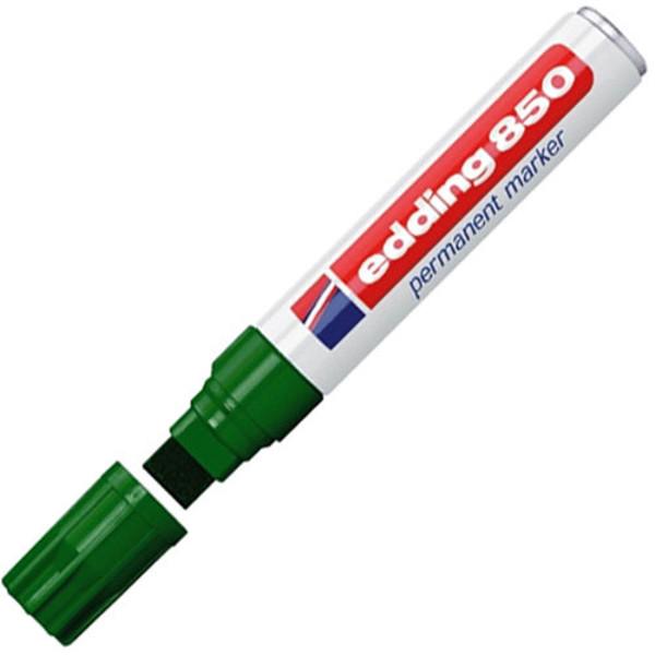 Picture of edding  850 viltstift permanent 5-15mm groen