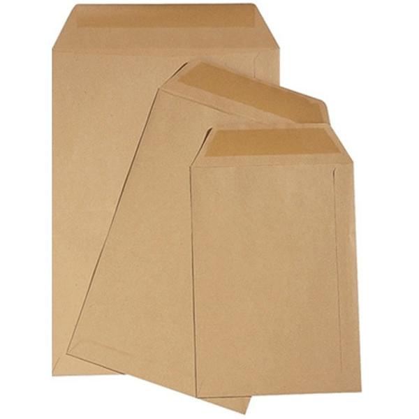 Picture of envelop loonzak Quantore  114x162mm bruin     70gr  100stuks