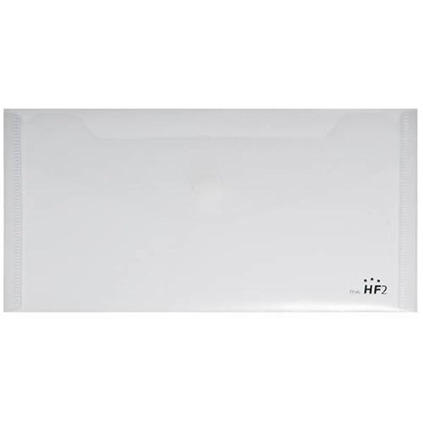 Afbeelding van enveloptas HF2 liggend 125x225mm voucher transparant wit