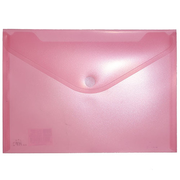 Picture of enveloptas HF2 liggend 180x250mm A5 transparant rood