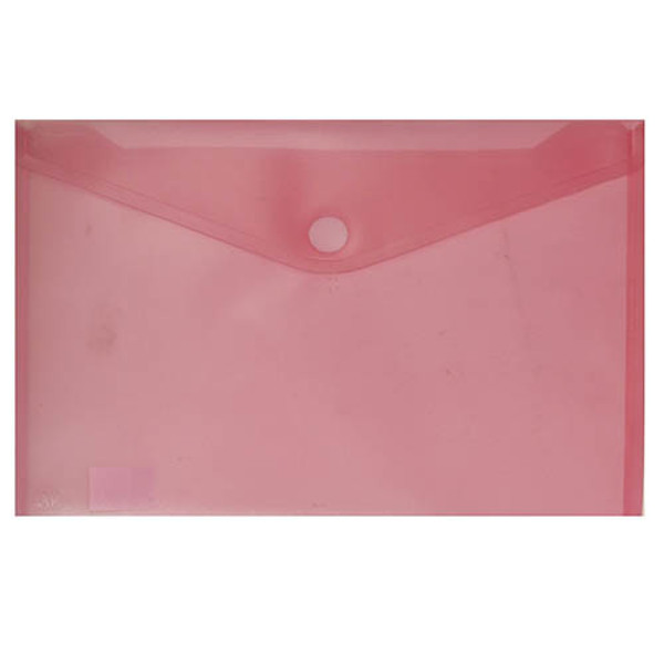 Picture of enveloptas HF2 liggend 240x330mm A4 transparant rood