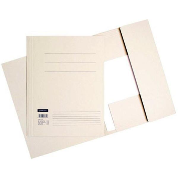 Picture of stofklepmap Quantore Folio 245x350mm 320gr grijs