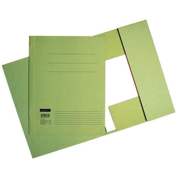 Picture of stofklepmap Quantore Folio 245x350mm 320gr groen