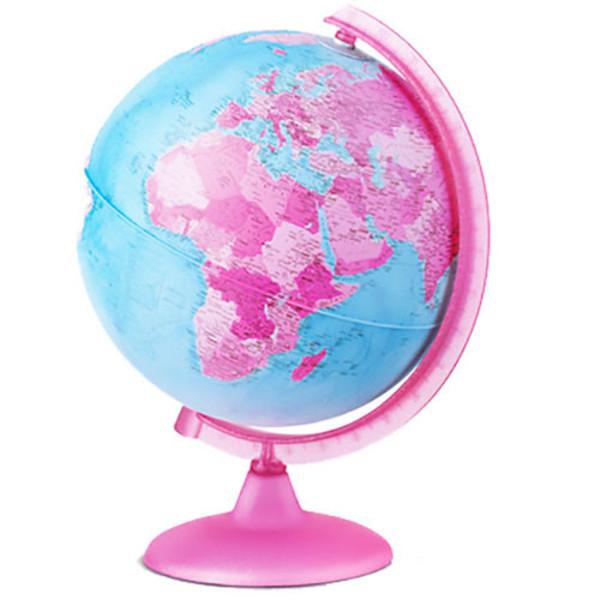 Picture of globe Tecnodidattica 25cm Pink met verlichting
