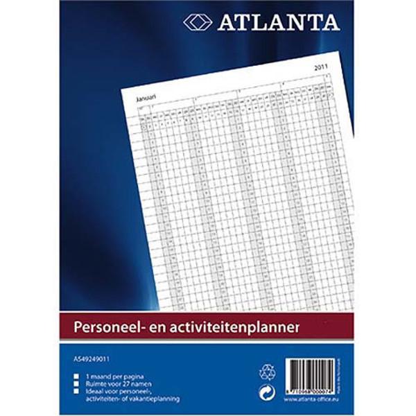 Picture of kalender Atlanta 2020 jaarplanner - personeel- en activiteitenplanner