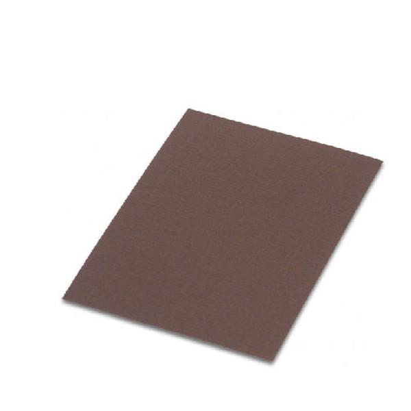 Picture of correspondentiekaart Paperado  75x105mm 5st 077 chocolade
