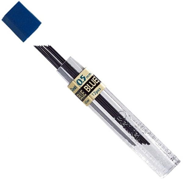 Afbeelding van potloodstift Pentel 0.5mm  blauw 12stuks