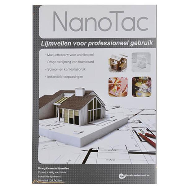 Afbeelding van lijmvellen NanoTac 10vel voor professioneel gebruik