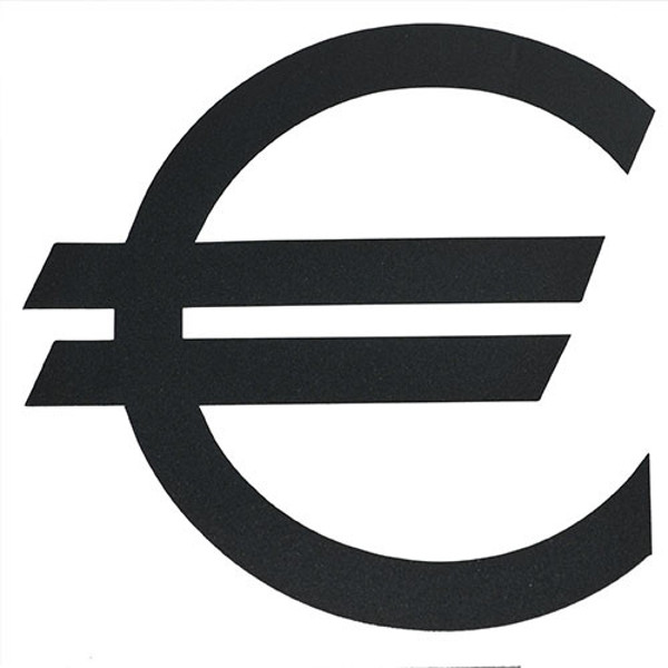 Picture of plakletter Pickup Helvetica 60mm zwart - Euro -