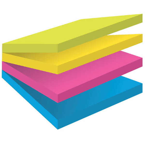 Picture of memoblok 3M Post-it  76x76mm 2014SC-BYFG Super Sticky