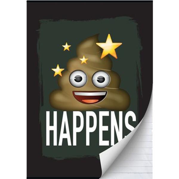 Picture of schrift A4 Emoji boys gelijnd         80blz.