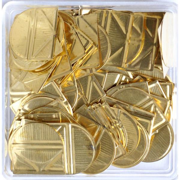 Bild von hoekclips (bendover) Alco 100stuks goudkleurig