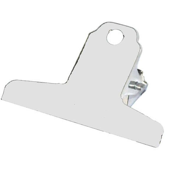 Afbeelding van papierklem Maul spring clips   76mm - chrome