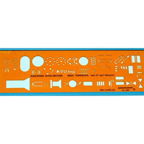 Sjabloon Standardgraph 3380 Electro Electronic Radio
