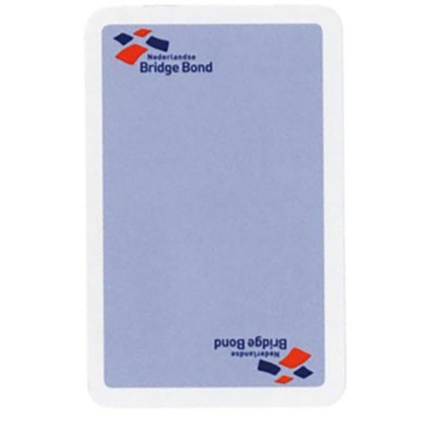 Afbeelding van speelkaarten Bridgebond - blauw