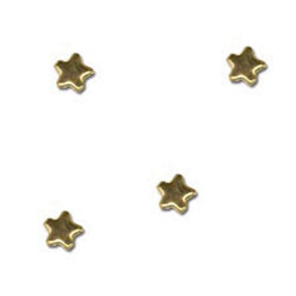 Picture of splitpennen Pickup decoratie mini sterren 16 stuks donkerblauw