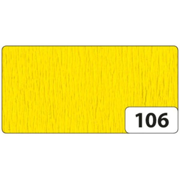 Picture of crepepapier Folia 250x50cm nr 106 geel