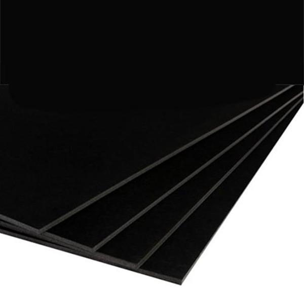 Picture of foamboard Q-Connect 50x 70cm 2-zijdig 5mm zwart