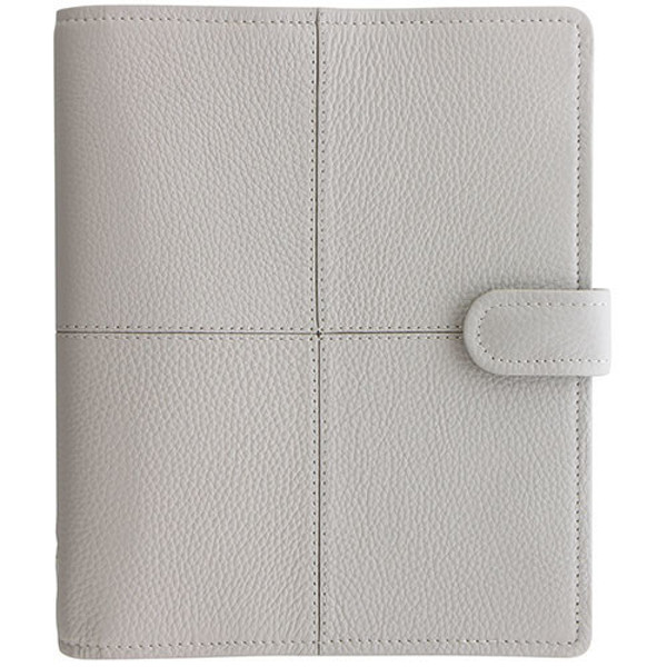 Picture of filofax 1921 A5  Classic Stitch Soft grey