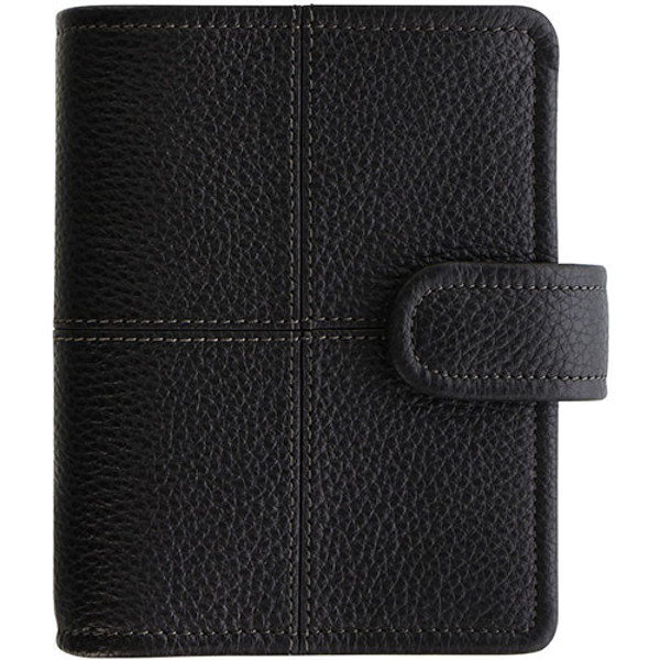 Picture of filofax 1921 Pocket   Classic Stitch Soft black