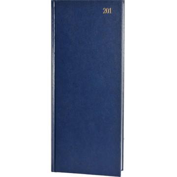 Picture of agenda Castelli 2020 H74 Praktijk 140x330mm 1/1 Balacron - blauw / zwart