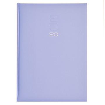 Picture of agenda Castelli 2020 H46 Roma     210x297mm 7/2 Matra color - kolommen - blauw / lime