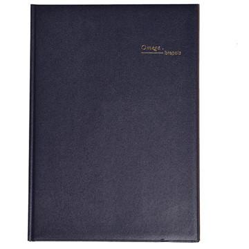 Picture of agenda Brepols 2020 Omega      210x290mm 7/2 Lima - blauw