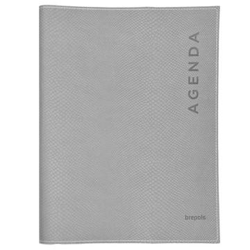 Afbeeldingen van agenda Brepols 2020 Timing 168x220mm 7/2 Pitone - grijs