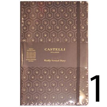 Bild von agenda Castelli 2020 Milano 1/1 black&gold