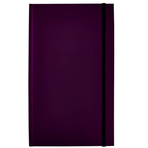 Afbeelding van notitieboek Rockbook 130x210mm gelijnd hardcover mulberry