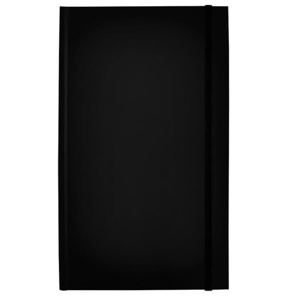 Bild von notitieboek Rockbook 130x210mm gelijnd hardcover black