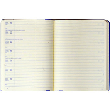 Picture of agenda Brepols 2021 Back to Paper 171x220mm  7/1 + notitieblad - zwart