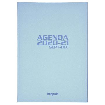Picture of agenda Brepols 2020-2021 Weekly    16mnd 148x210mm 7/1 Soft - creme - blauw - grijs