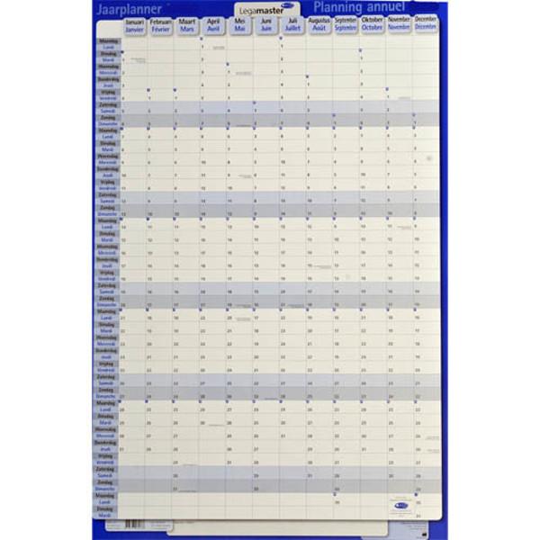 Afbeelding van jaarplanner Legamaster 2021 - persoonlijkeplanner - vertikaal - plastic