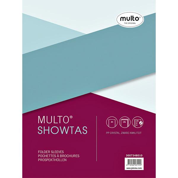 Showtas Multo A4 23-gaats 0.14mm glad 10stuks PP