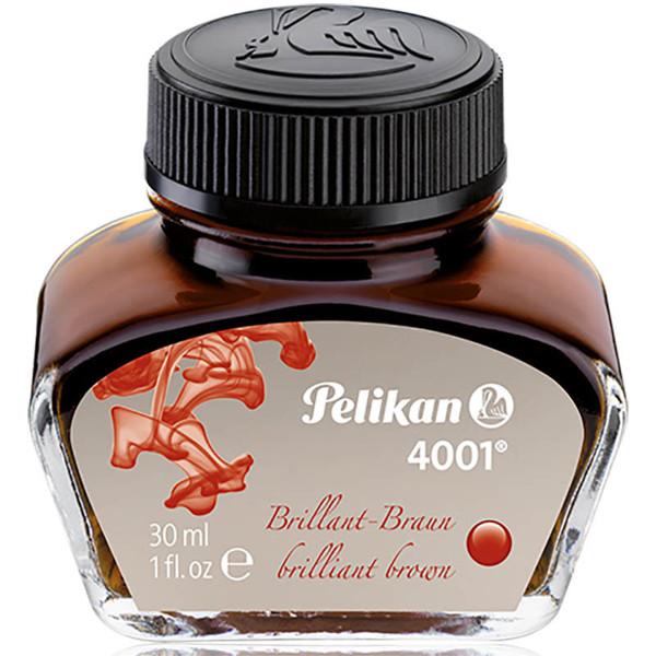 Picture of vulpeninkt Pelikan 4001 Brilliant Brown 30ml