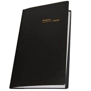 Picture of agenda Brepols 2021 Breplan    92x160mm 7/1 Seta - rood - blauw - zwart