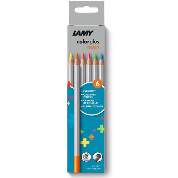 kleurpotloden Lamy Colorplus 6 neon kleuren