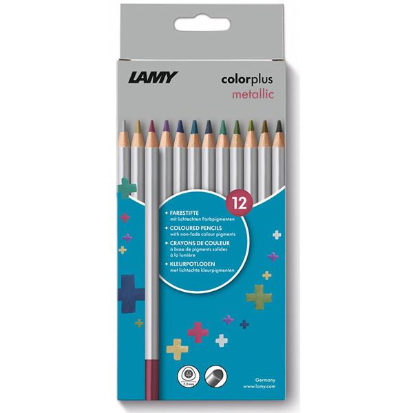 kleurpotloden Lamy Colorplus 12 metallic kleuren