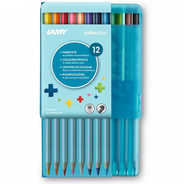 kleurpotloden Lamy Colorplus 12 kleuren kunststof doos