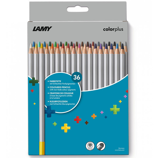 kleurpotloden Lamy Colorplus 36 kleuren