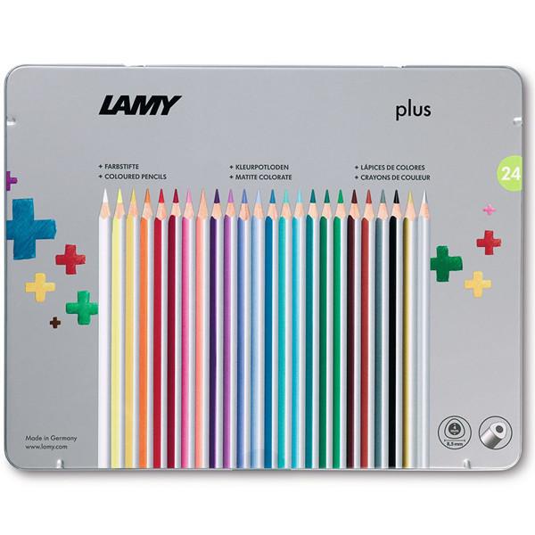 kleurpotloden Lamy Plus 24 kleuren metalen doos